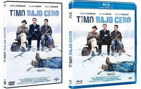 Carátulas DVD y Blu-ray de Timo bajo cero