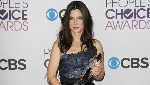 Sandra Bullock en los Premios Peoples Choice