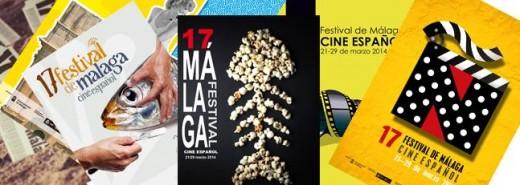 Carteles Festival de cine de Málaga 2014