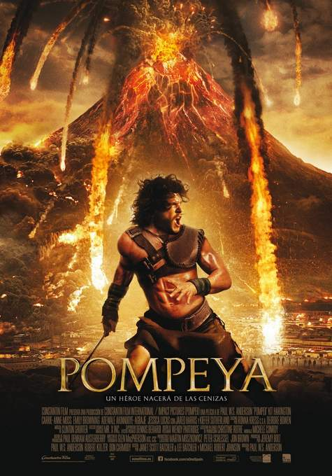Póster de Pompeya