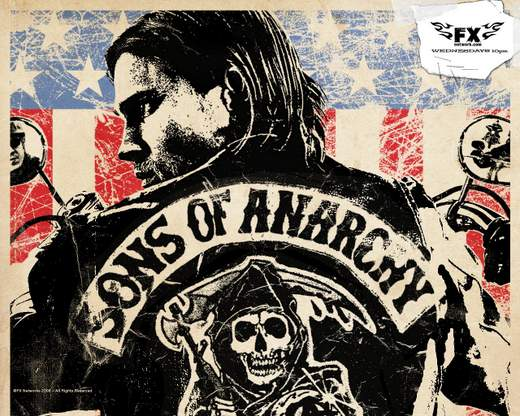 Sons of Anarchy serie TV.