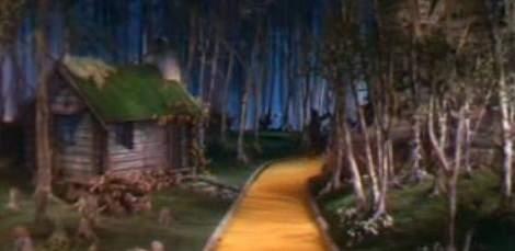 Escena ahorcado Mago de Oz
