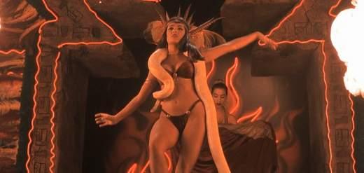Baile erótico de Salma Hayek en Abierto hasta el amanecer