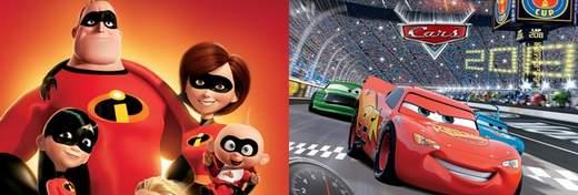 Disney prepara Los Increibles 2 y Cars 3