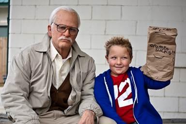 Bad Grandpa, la nueva locura del equipo de Jackass