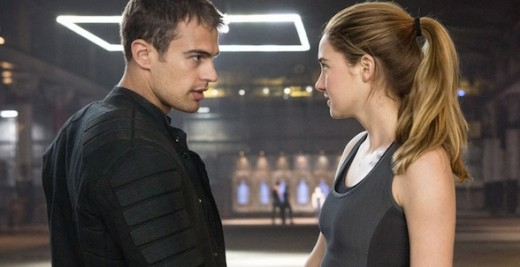 Shailene Woodley en Divergente, no Anastasia Steele