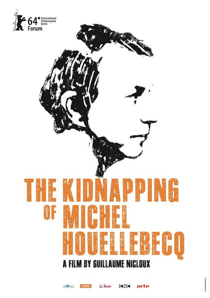 Póster de secuestro de Michel Houellebecq