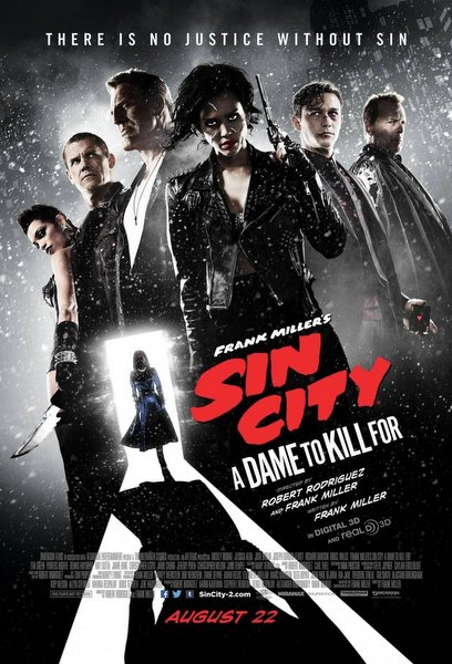 Póster de Sin City: A Dame To Kill For