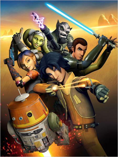 Póster nueva serie Star Wars: Rebels