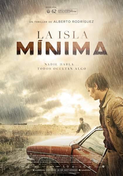 Póster de La isla mínima Nominada Premios Goya 2015