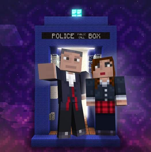 Doctor Who en Minecraft