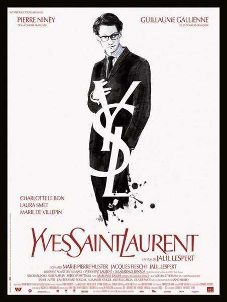 Póster de Yves Saint Laurent