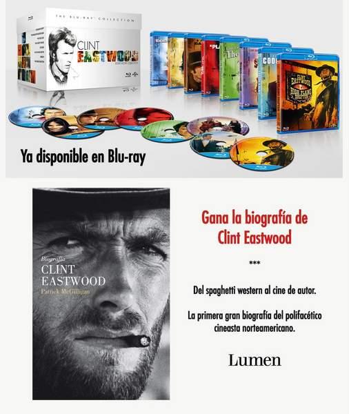 Concurso Clint Eastwood en Blu-ray