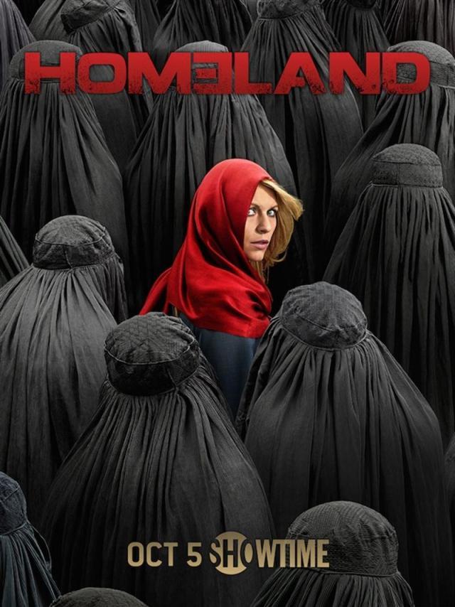 Póster de la cuarta temporada de Homeland