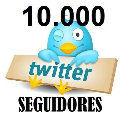 10.000 seguidores en Twitter