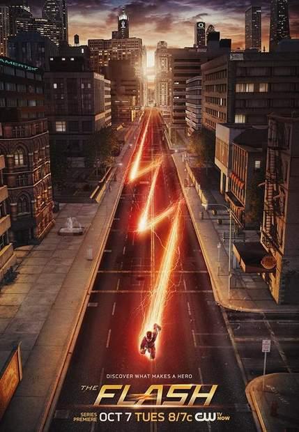 Póster de la serie Flash (2014)