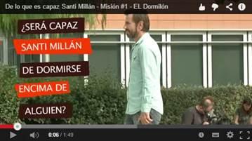 Santi Millán vídeo Kinder Bueno