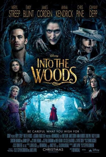 Póster de Into the Woods