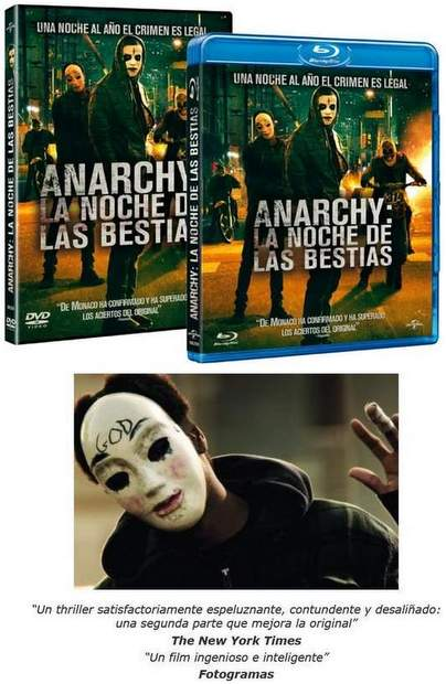 Concurso Anarchy la noche de las Bestias