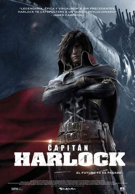 Póster de Capitán Harlock