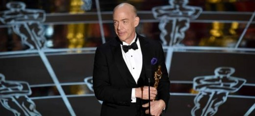 J.K. Simmons ganador del Premio Oscar a mejor actor de reparto.