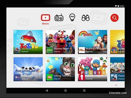 Ya en funcionamiento la aplicación Youtube Kids