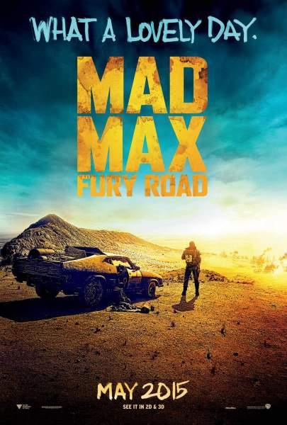 Póster de Mad Max: Furia en la carretera de George Miller