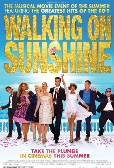 Póster de Walking on Sunshine