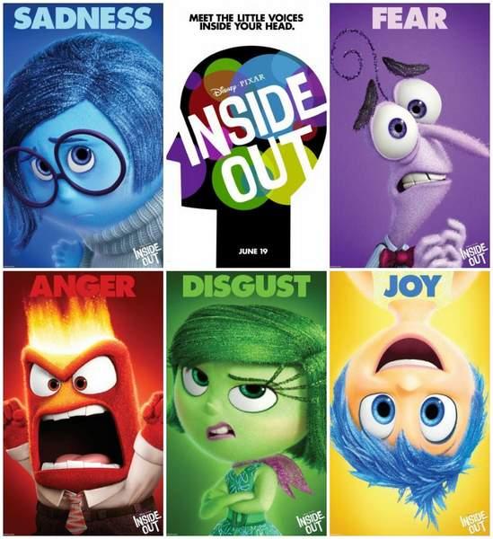Cartel Inside Out de Pixar