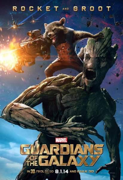 Póster de Guardianes de la Galaxia 2