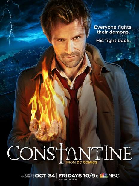 Póster de la serie Constantine