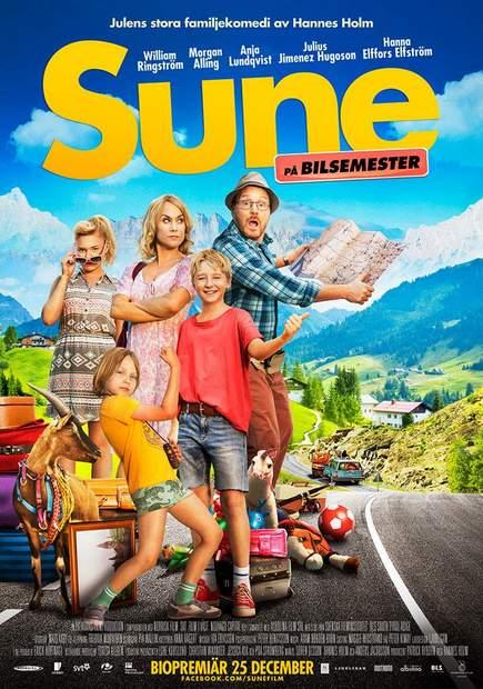 Póster de Los Andersson road movie