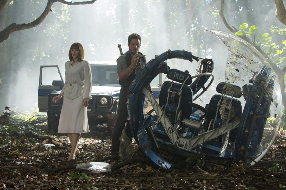 Imagen película Jurassic World