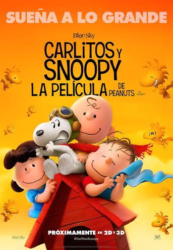 Póster de Carlitos y Snoopy: La película de Peanuts
