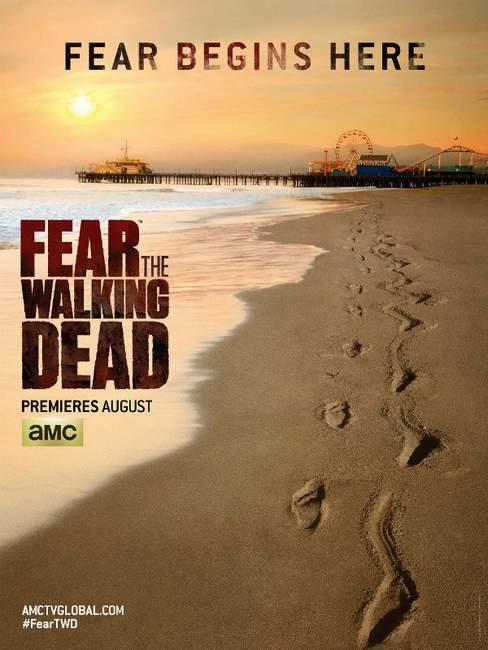 Póster de The Fear the Walking Dead