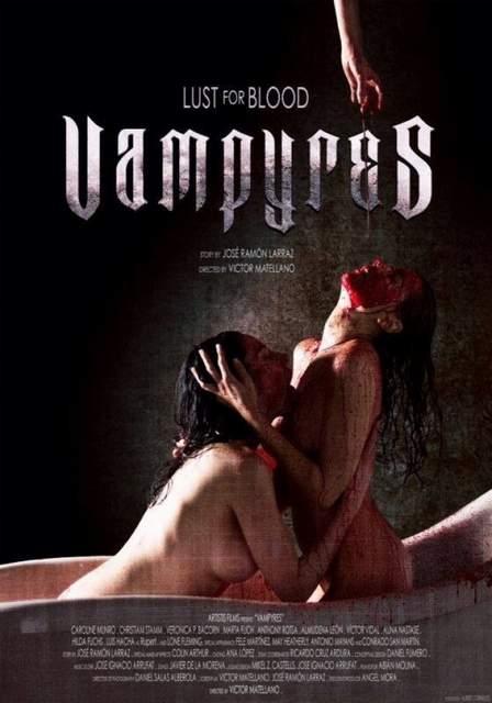Póster de Vampyres de Víctor Matellanos
