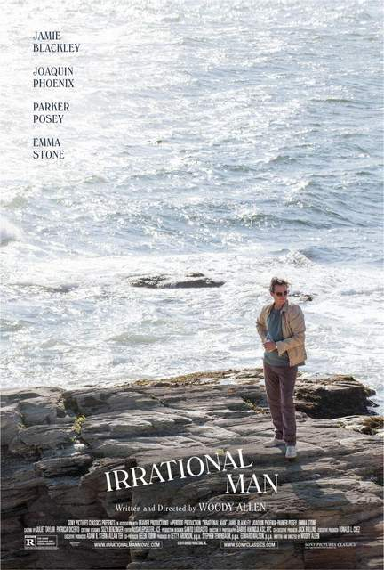 Póster de The Irrational man