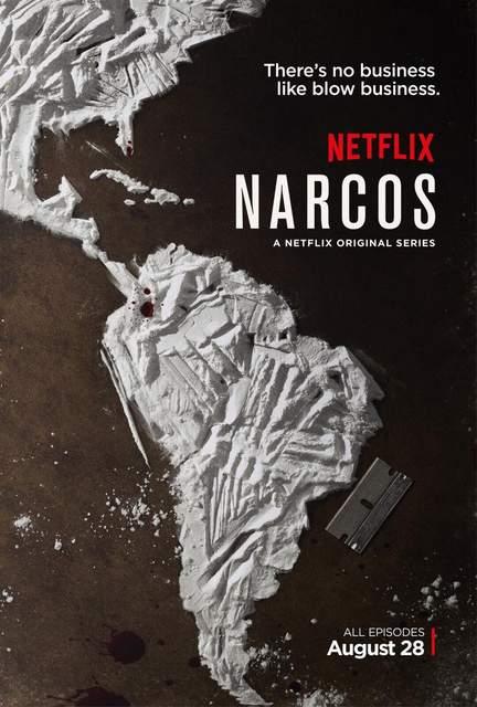 Póster de la serie Narcos
