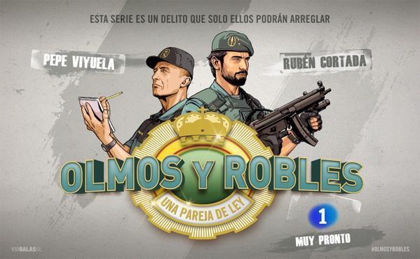 Póster de la serie Olmos y Robles