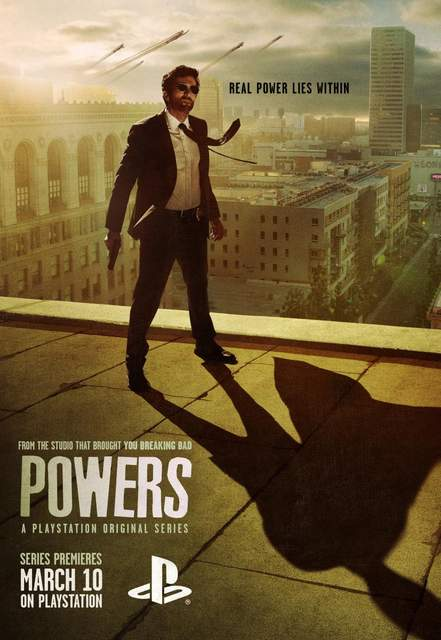 Póster de la serie Powers