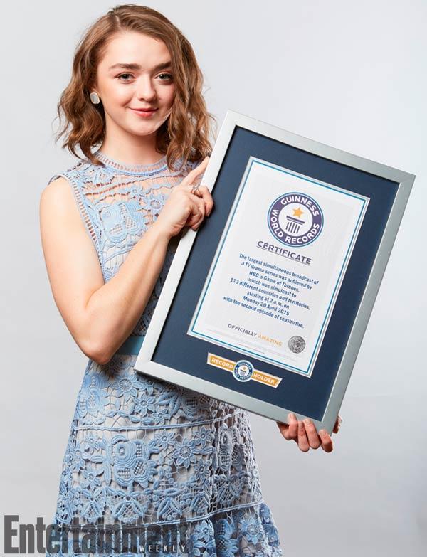 Juego de Tronos entra en libro Guinness de los Récords