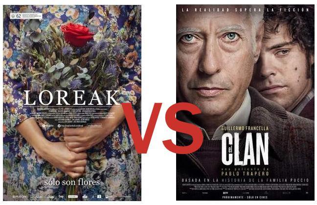 Loreak contra El Clan en la lucha por el Oscar