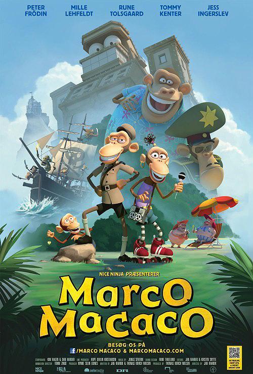 Póster de Marco Macaco y los primates del Caribe