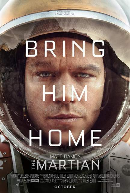 Póster de Marte (The Martian)