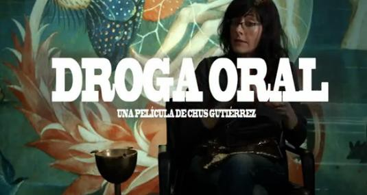 Cartel de Droga oral de Chus Gutiérrez