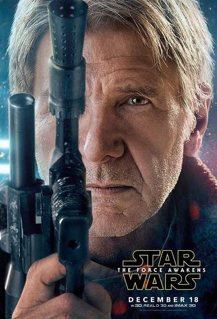 Póster de Star Wars: El Despertar de la Fuerza (Star Wars: The Force Awakens)