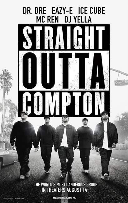Póster de Straight Outta Compton