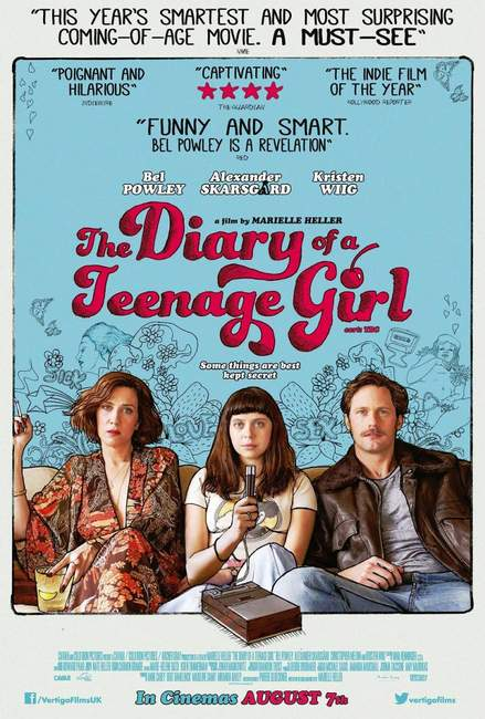 Póster de The Diary of a Teenage Girl