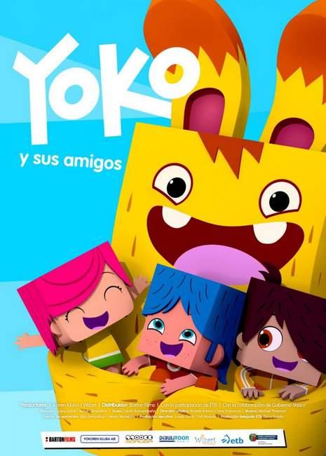 Póster de Yoko y sus amigos
