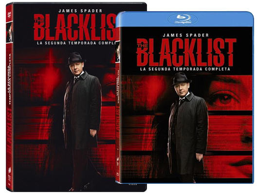 Carátulas segunda temporada de The Blacklist